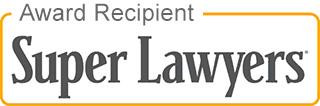 award recipient super lawyers