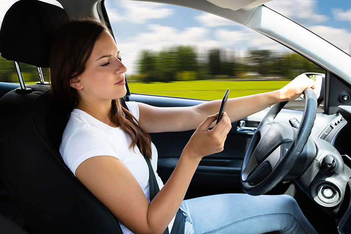 Distracted Driving Causing Personal Injury | Ann Arbor MI
