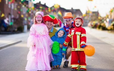 Halloween is a Scary Night to be a Child Pedestrian